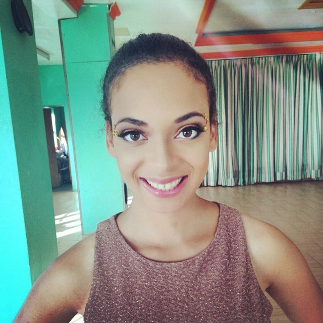 Make up ready for carnival! #carnival #StKitts