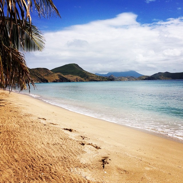 Leave nothing but your footprints.  #footprint #beauty #beach #IndeinenFußstapfen #Basseterre #StKitts #Wishyouwerehere