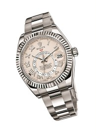 ROLEX Oyster Perpetual Sky-Dweller, 42mm, white gold