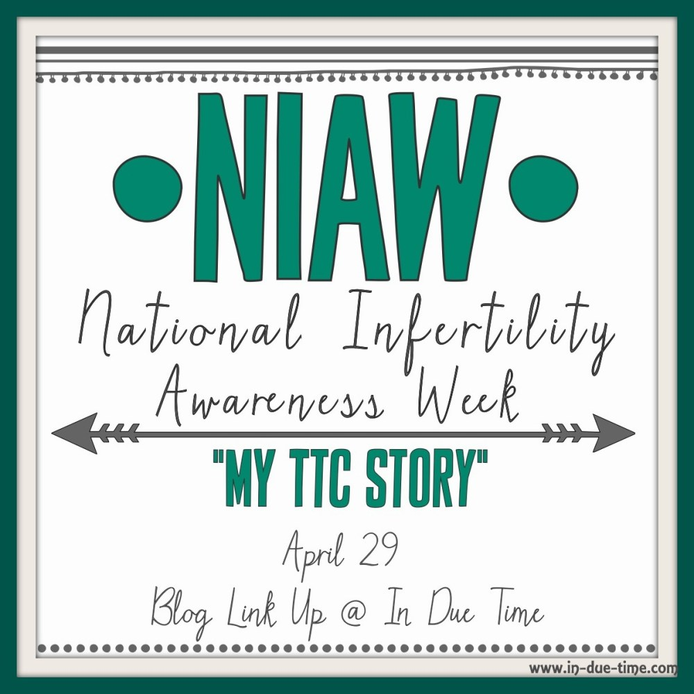Infertility Blog Link Up - April 29th