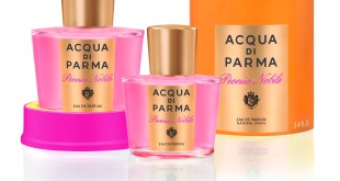 www.lifeandsoullifestyle - Acqua di Parma adds Peonia Nobile to the Le Nobili collection