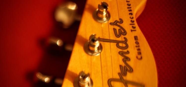 I Never Knew….{Fender Guitar}