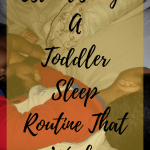 how to stop nursing toddler to sleep