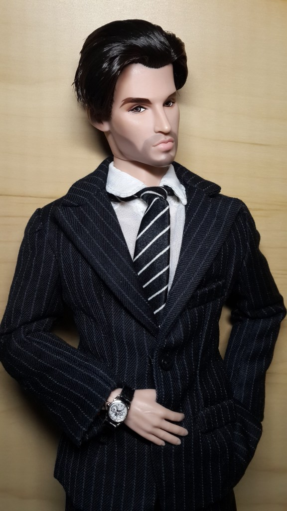 Declan Wake in suit from Turning Heads Pierre. - Smashing isn't he?