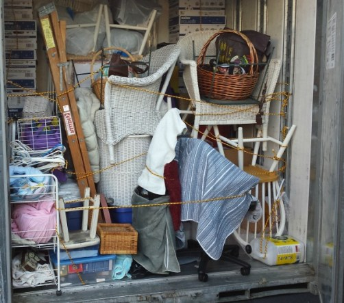 Letting go of stuff - releasing clutter life coach linda