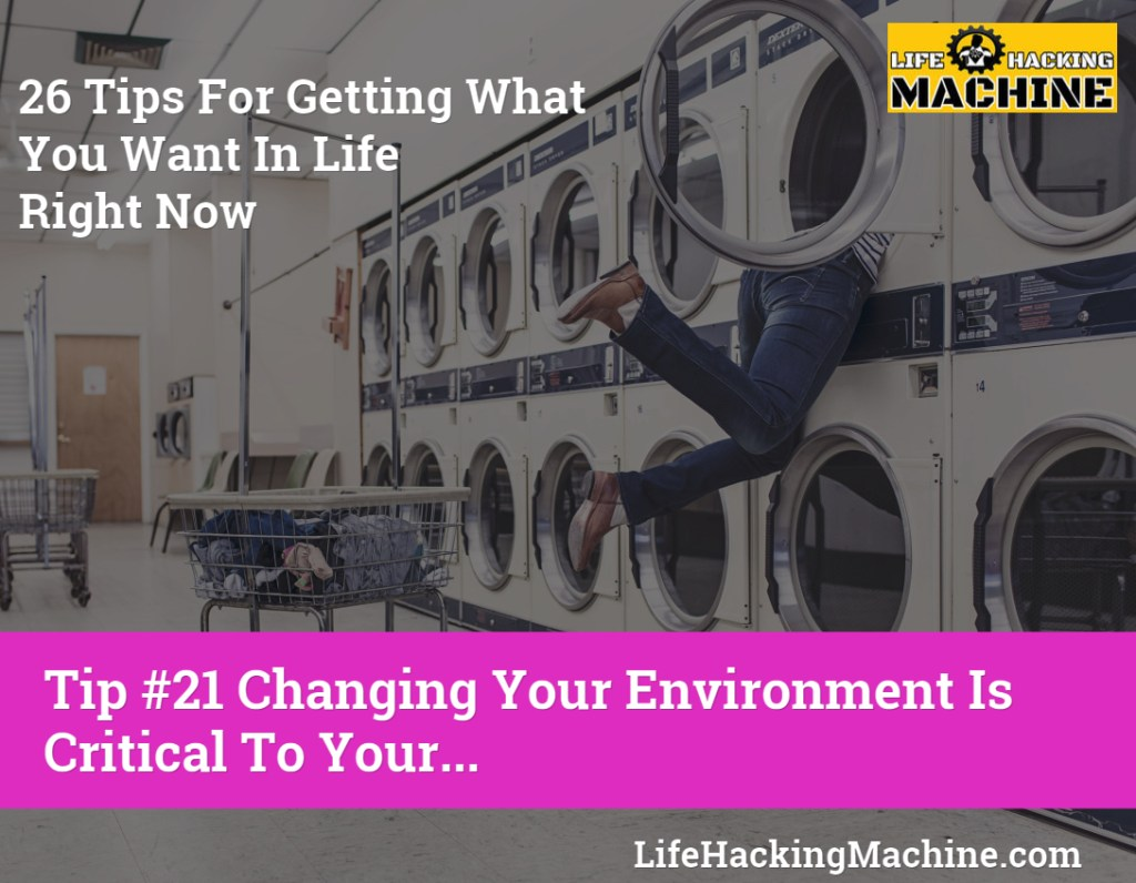 how to change your life right now