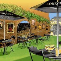 L'Alchimie de Courvoisier terrace at Harvey Nichols