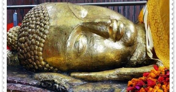 Lord Buddha lies in Eternal Sleep in Kushinagar