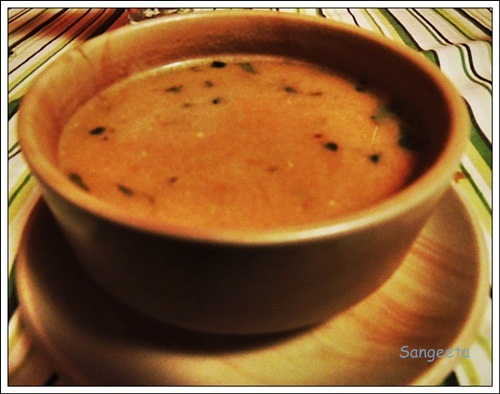 Tea Themed Dishes Soup