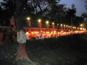 Bodhgaya-Butter Lamp
