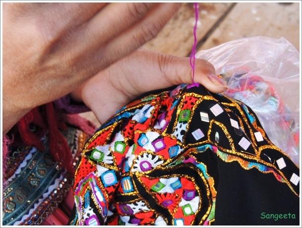 Rabari Embroidery Girl
