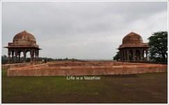 Mandu Baz Bahadur Palace Terrace