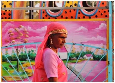Pushkar Fair Rajasthan Lady