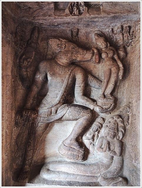 Badami Caves-Cave2-Vishnu-Varaha
