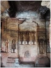 Badami-Cave4-Jainism-Statues