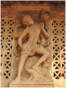 Pattadakal Wall Carving