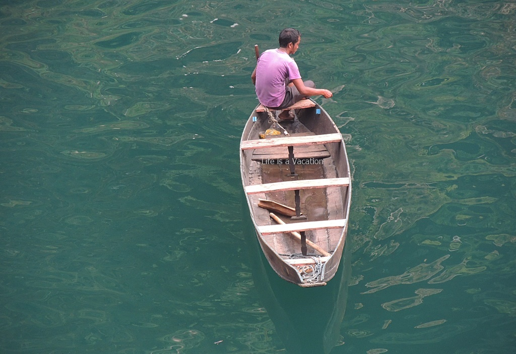 Boatride on Umngot, Dawki; Meghalaya
