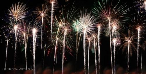 Fireworks Happy News Year's Brad W. Smith photographer LifeIsHOTBlog