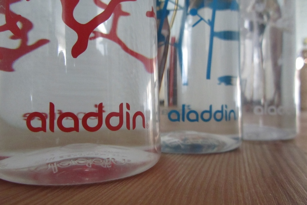 Aladdin Aveo Waterfles 1
