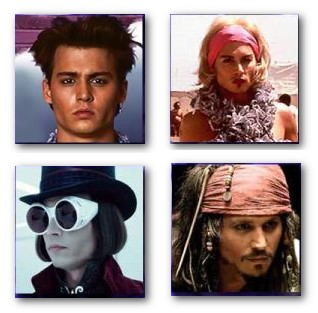 Johnny Depp Characters