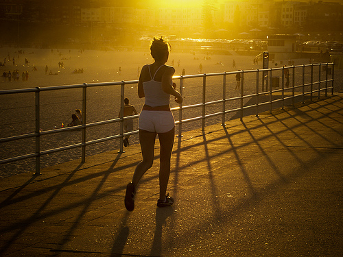 Jogging to avoid weight gain