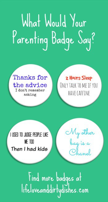 Parenting Badges Pintrest