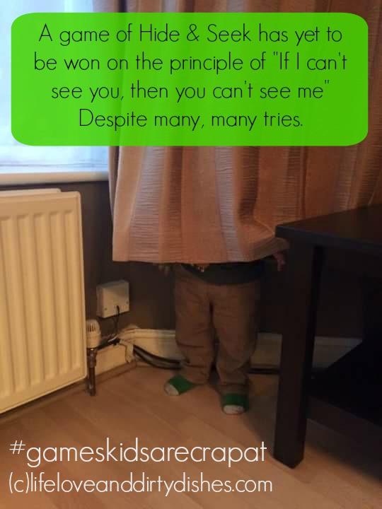 Parenting Meme - Hide and seek