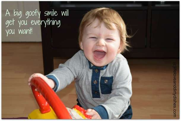 goofy smiles
