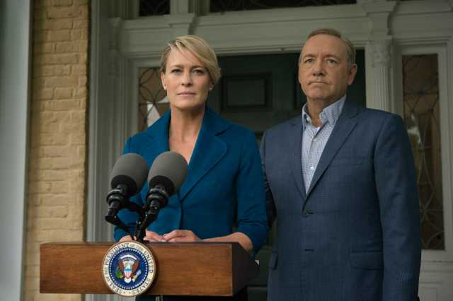 Screen shot from Netflix Series House Of cards