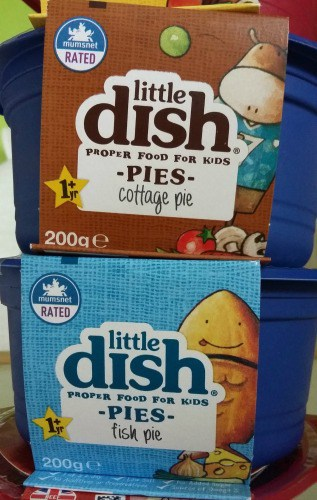 Image of little Dish pots and Pies
