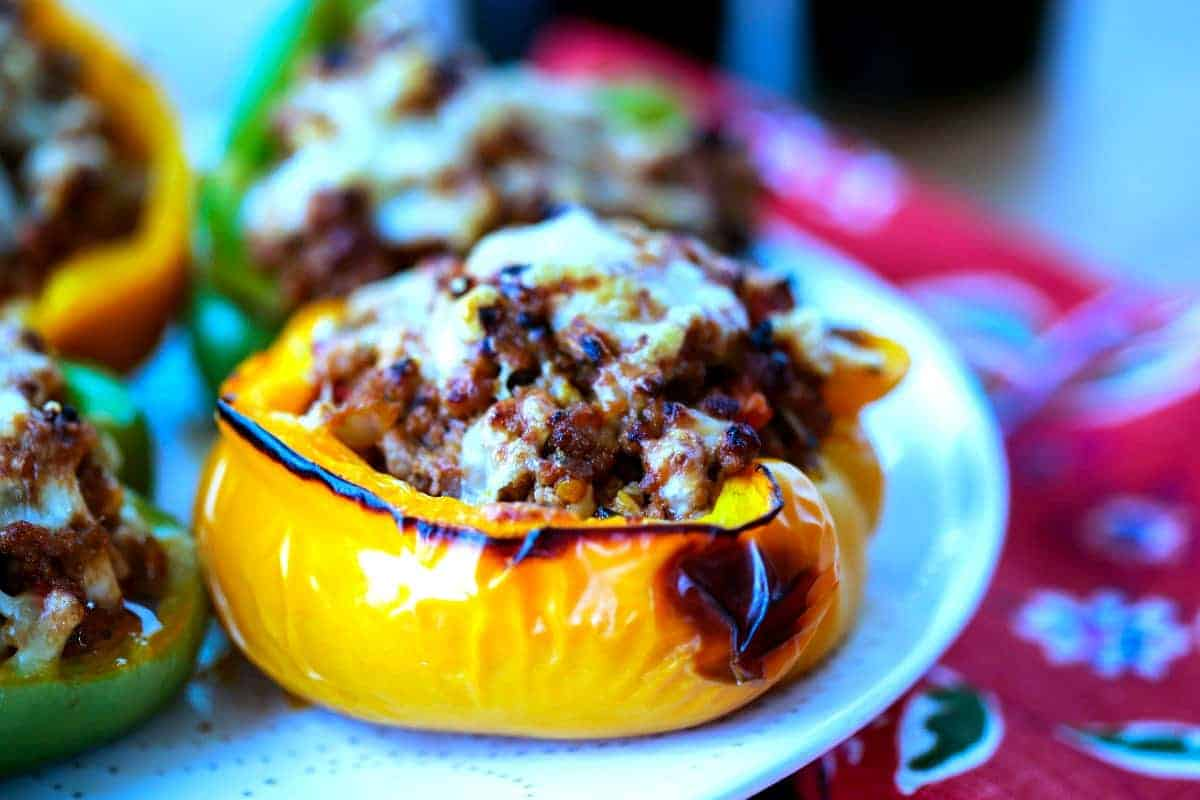 The Good Food Pioneer Woman Stuffed Peppers Video Pioneer Woman Stuffed Banana Peppers Bbq Turkey Stuffed Peppers nice food Pioneer Woman Stuffed Peppers