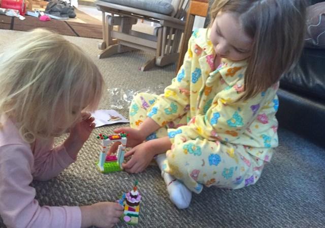 Lego mornings