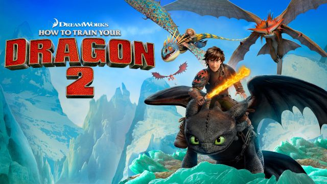 Movie Night How to train your dragon on Netflix