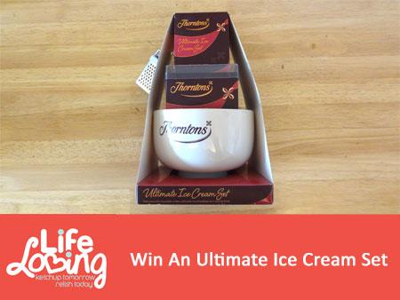 Win An Ultimate Ice Cream Set