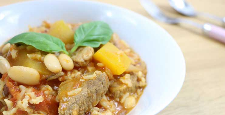 Pumpkin and Lamb Stew Recipe