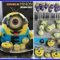 Best Minion Cake and Party