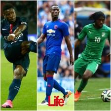 Trois ivoiriens à l'assaut du Ballon d'Or africain 2016