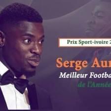 Serge Aurier remporte le Prix Sport Ivoire du meilleur footballeur ivoirien