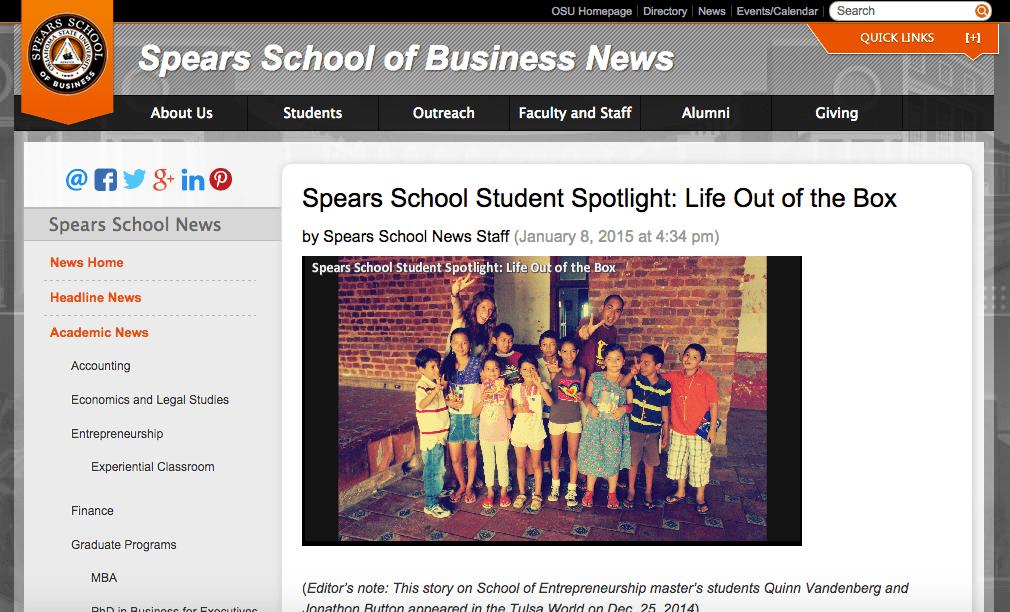 OSU Spears School of Business