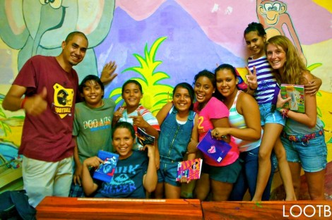 LOOTB Gives to BPP in San Juan del Sur, Nicaragua