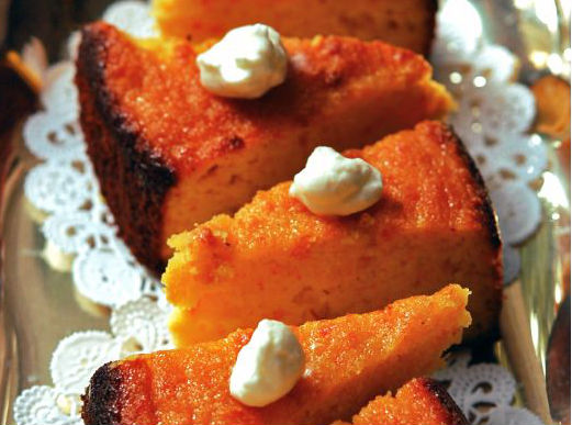 Narandžasta torta od narandže