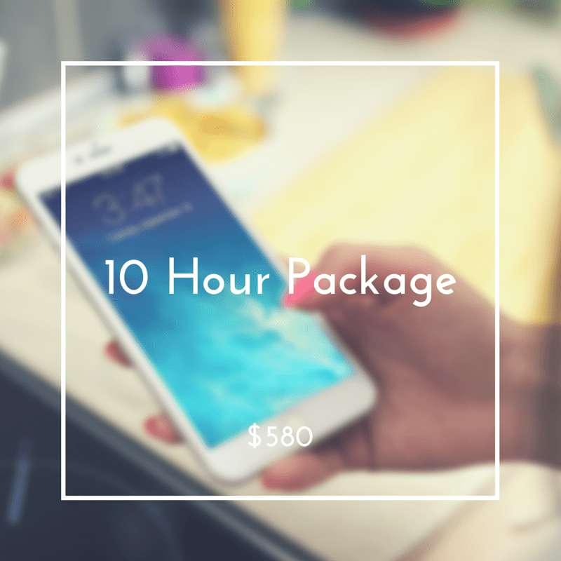 10 Hour Package