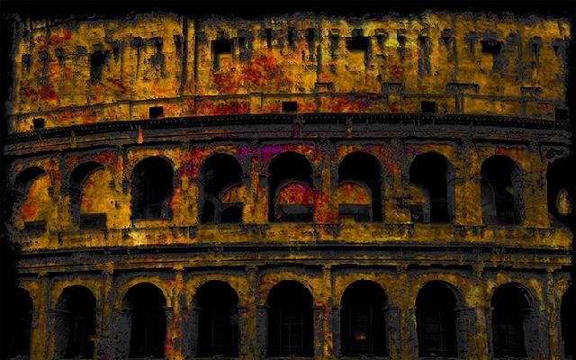 50x80 Amphitheatrum Flavium cornice