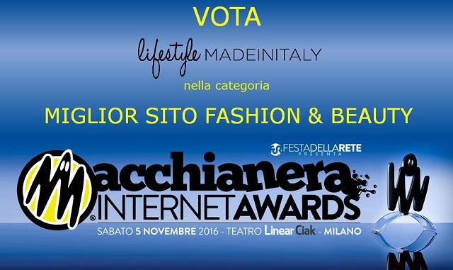 Macchianera Internet Awards 2016: vota Lifestyle made in Italy