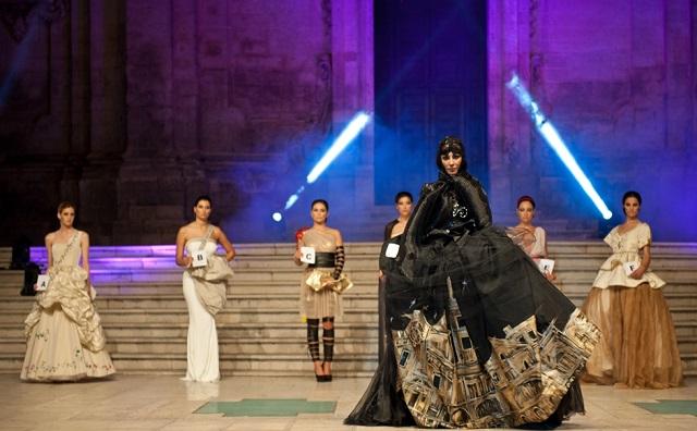 Premio Moda Città dei Sassi 2015 - Abiti omaggio a Matera Capitale Europea della Cultura 2019 (ph. Enzo Dell'Atti)