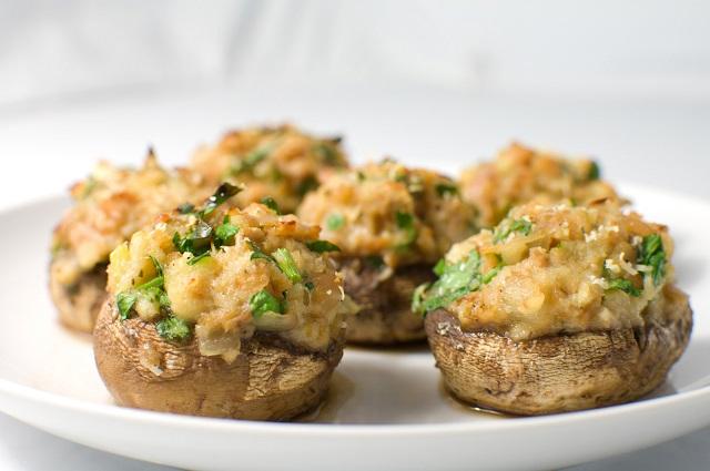 funghi-ripieni-al-forno-ricetta