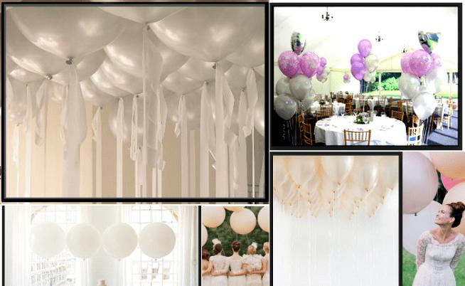 Palloncini matrimonio, idee per rendere speciale il grande giorno