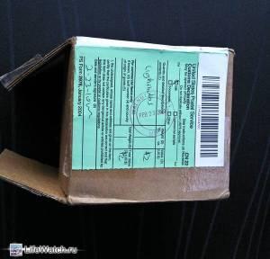 Лампы H10 с ebay. Коробка