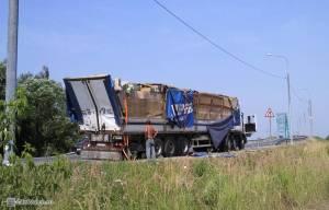 Результат невнимательности водителя...