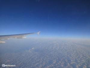 Под крылом самолёта..